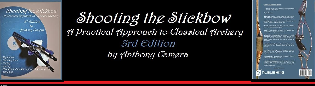 Shooting the Stickbow - Aluminum Arrow Guide